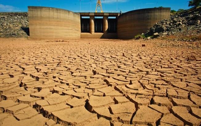 represa seca